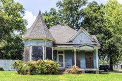 Историческое здание в здании Charpentier Lake Charles Стоковое Фото