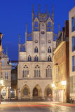 Историческое здание в Мунстер, Германии Стоковое Изображение RF