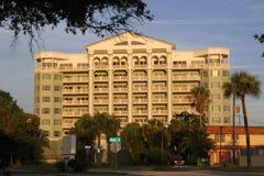 Историческое здание в передней улице, Мельбурне, Флориде Стоковые Изображения RF