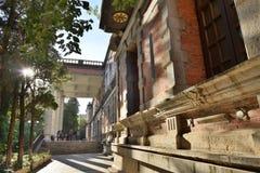Историческое здание в солнечности Стоковое Изображение