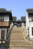 Историческое здание в улице Jiaxing Yuehe Стоковое фото RF