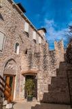 Историческое здание в центре разделения Стоковые Фотографии RF
