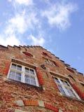 Историческое здание в Brugges Бельгии Стоковые Изображения RF