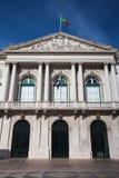 Историческое здание здание муниципалитета в Лиссабоне Стоковая Фотография