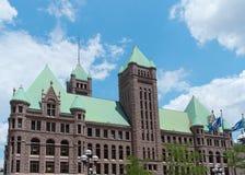 Историческое здание здание муниципалитета Миннеаполиса Стоковые Фотографии RF