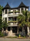 Историческое здание пинка Georgia саванны Стоковые Фото