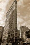 Историческое здание Flatiron Стоковая Фотография