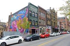 Историческое здание, Halifax, Новая Шотландия, Канада Стоковая Фотография RF