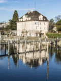 Историческое здание Lindau Стоковые Изображения