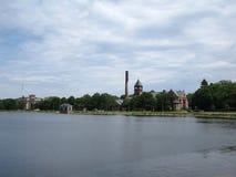 Историческое здание Waterworks в Бостоне Стоковое Фото