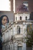 Историческое космополитическое здание в Maboneng, Йоханнесбурге Стоковые Фото