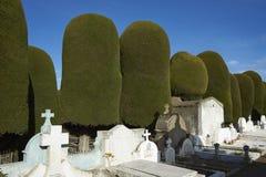 Историческое кладбище арен Punta, Чили стоковое изображение