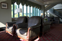 Историческое лобби гостиницы Стоковое Фото