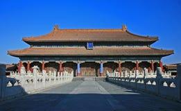 историческое Пекин запрещенное городом Стоковая Фотография RF