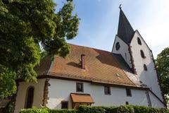 Историческое плохое vilbel hesse Германия стоковое изображение