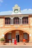 Историческое почтовое отделение в Йорке, западной Австралии Стоковое фото RF