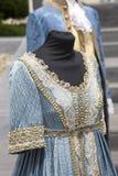 Историческое платье времени Бурбона в Неаполь стоковые фотографии rf