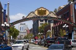 Историческое сердце Сан-Диего Стоковое фото RF