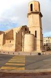 Историческое средневековое здание в центре марселя и Стоковая Фотография RF