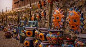 Историческое старое Mesilla Неш-Мексико Стоковое Изображение