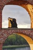 Историческое укрепленное место Bomarsund, острова Aland Финляндия h Стоковая Фотография