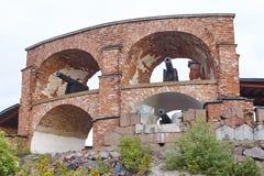 Историческое укрепленное место Bomarsund, острова Aland Финляндия h Стоковое Изображение RF