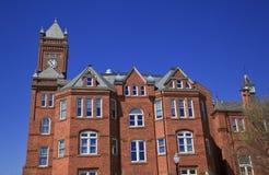 Историческое Biddle Hall на Джонсоне c кузнец стоковые фотографии rf