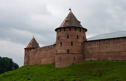 историческое novgorod kremlin Стоковые Изображения