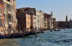 Историческое Palazzos в Венеции, Италии стоковая фотография
