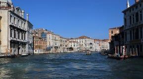 Историческое Palazzos в Венеции, Италии стоковые фото