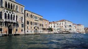 Историческое Palazzos в Венеции, Италии стоковые фотографии rf