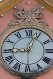 историческое schwaebisch города gmuned орнаменты и фасады деталей Стоковое фото RF