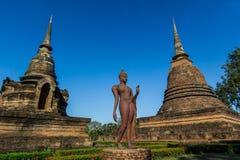 историческое sukhothai парка Стоковые Изображения RF