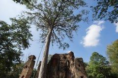 историческое sukhothai парка стоковые изображения
