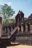 историческое sukhothai парка стоковое фото rf