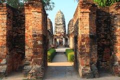 историческое sukhothai Таиланд парка стоковые изображения