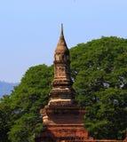 историческое sukhothai Таиланд парка Стоковое Фото