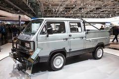 Историческое syncro T3 TriStar VW Стоковое Изображение