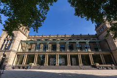Историческое townhall Вупперталь Германия стоковая фотография rf