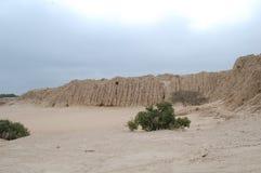 историческое tucume пирамидок Стоковые Изображения RF