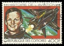 История авиации, Нил Армстронг Стоковая Фотография