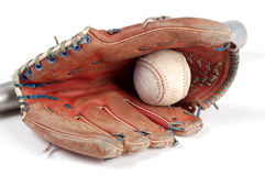 история бейсбола Стоковое Изображение
