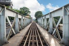 История старого поезда архитектуры железнодорожная длинного Bian Стоковая Фотография RF