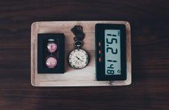 История часов Стоковые Фото