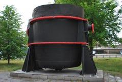 история blastfurnace Стоковая Фотография RF