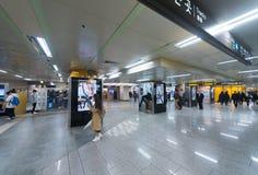 История Dongdaemun и станция метро парка культуры Стоковая Фотография