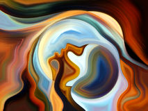 Источник внутренней краски Стоковые Изображения RF