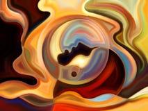 Источник внутренней краски Стоковое Изображение RF