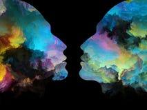 Источник внутренних цветов Стоковое фото RF