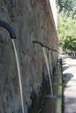 Источник струй воды в Sargal de Viver, Castellon Стоковое Изображение RF